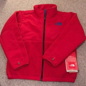 Boys Medium 10/12 Custom Red Denali Jacket